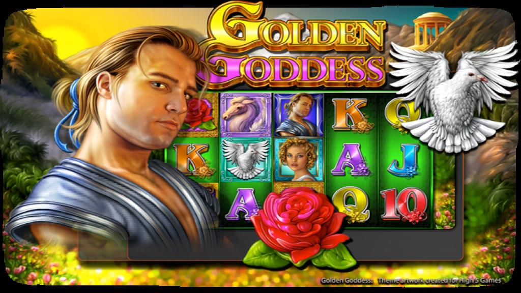 Slot machine golden goddess