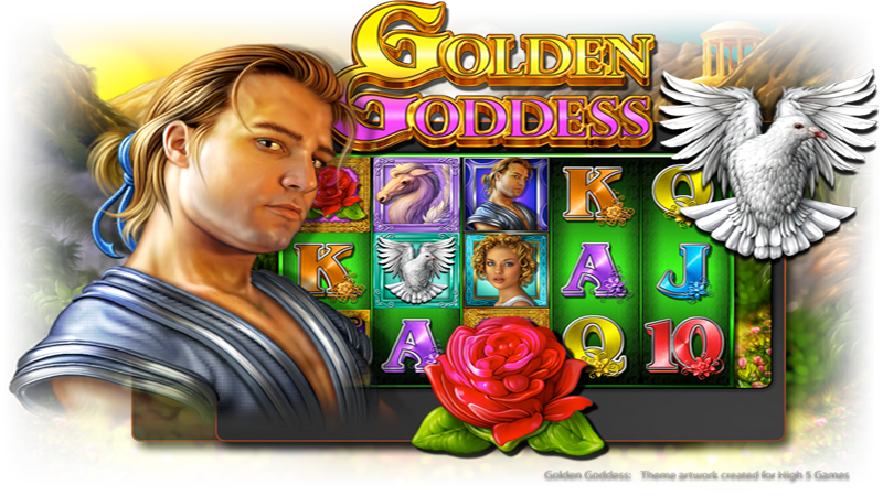 Free Golden Goddess Slot Machine