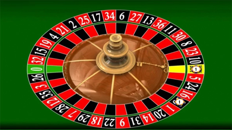 Key Bet Roulette Wheel