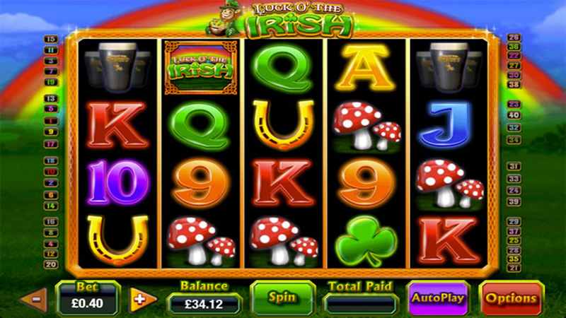 Luck Of The Irish Slot Machine