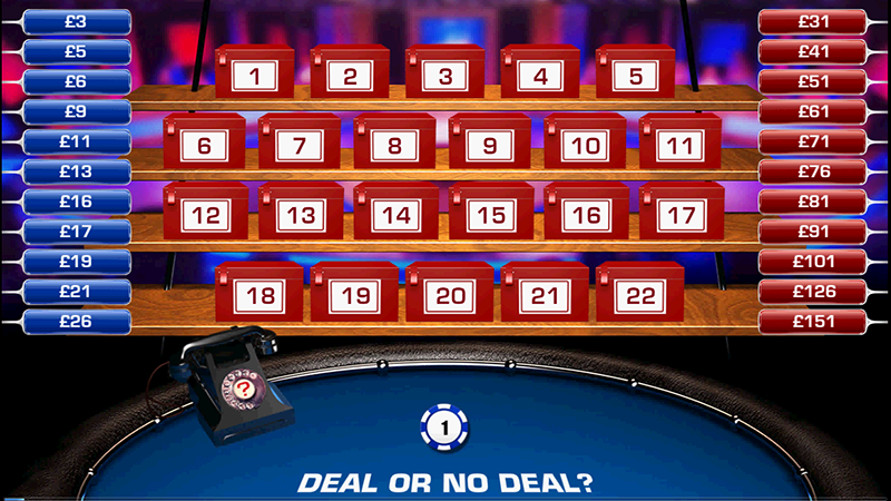 Deal or No Deal Bookies Roulette