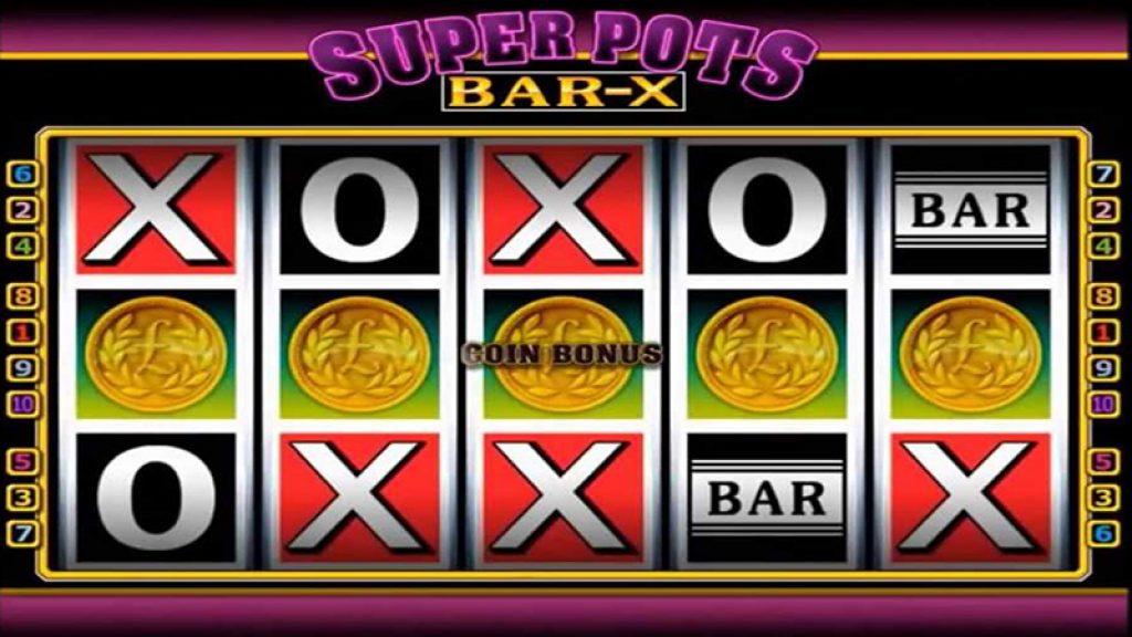 Mega Pots Bar-X Gold Slot Machine